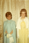 Christine Nicastro and Margie Gould Senior Prom Night 1969